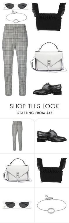 """Untitled #2160"" by kellawear on Polyvore featuring Alexander Wang, Rebecca Minkoff, River Island, Le Specs and Monica Vinader"