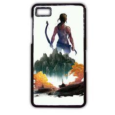 Tomb Rider Art TATUM-11316 Blackberry Phonecase Cover For Blackberry Q10, Blackberry Z10