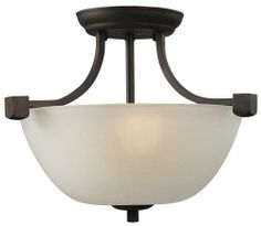 Grenadier Oil Rubbed Bronze Chandelier Semi Flush Mount At Menards