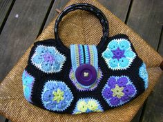 Ravelry: chitweed's African Flower Bag