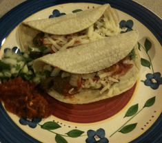 Just made these tonight: taqueria style venison tacos - not gamey at all, but pretty good!