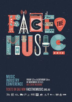 Face The Music 2013 in Poster