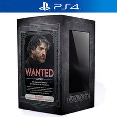 Dishonored 2 Collector's Edition - Only at GAME PS4 Cover Art