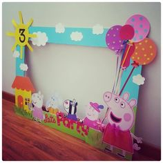 Best Images about Peppa Pig Birthday Party 4th Birthday Parties, Birthday Party Decorations, 3rd Birthday, Cumple Peppa Pig, Peppa Pig Pinata, Pig Birthday Cakes, Peppa Pig Birthday Ideas, Craft, Google