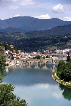 Sokolovic bridge, Visegrad, Bosnia