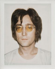 Andy Warhol: Polaroid of John Lennon.