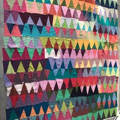 My Diamonds quilt by