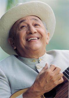 El gran Simón Díaz...compositor y cantante...Caracas, Venezuela