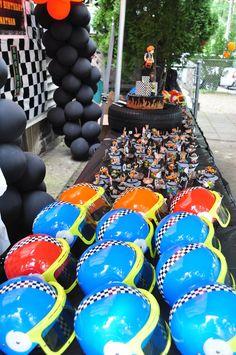 motorcycle theme birthday