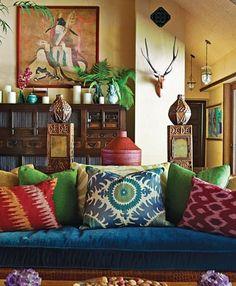 Rosa Beltran Design {Blog}: CITRON + TEAL COLOR PALETTE