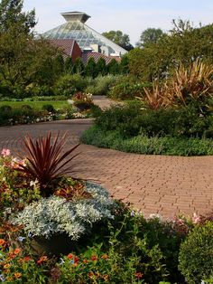 Olbrich Botanical Gardens -- So beautiful and active all year. I volunteered here a few times; it was the best.