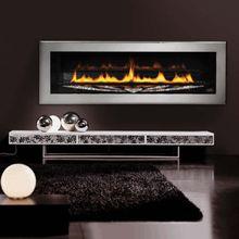 Napoleon Direct Vent LHD50SS Swarovski Linear Gas Fireplace
