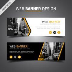 Website banner design black web banner design vector free do Letterhead Design, Branding Design, Logo Design, Packaging Design Inspiration, Graphic Design Inspiration, Web Banner Design, Web Banners, Best Banner, Brochure Layout