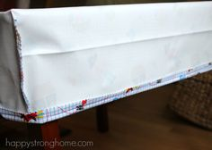 DIY Cornered Tablecloth Tutorial (One-Hour Project!)