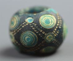 Warring States Glass Bead from Early China.
