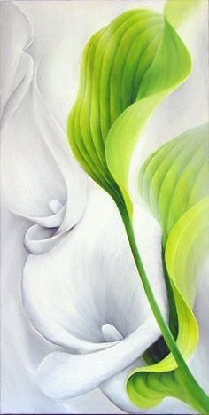 "Annette Schmucker, ""calla II"" With a click on 'Send as art card', you can send this art work to your friends - for free!"