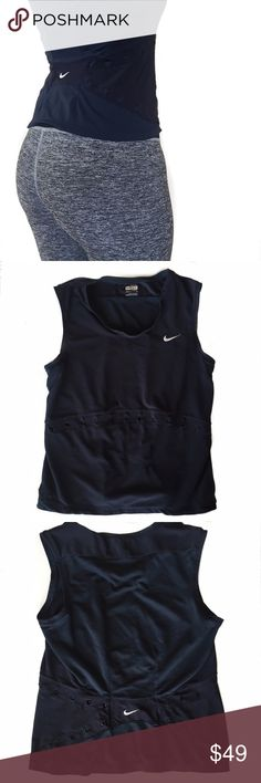 • Nike • Fit Tank Nike tank with super breathable fabric. Tag says XS but will fit up to a medium. Open to offers. Nike Tops Tank Tops