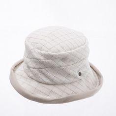 Brim point bucket hat www.omae.co/shop/brownhat