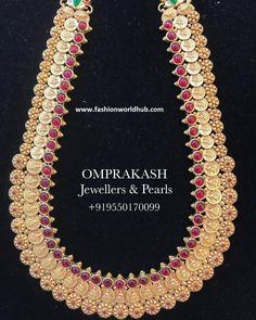 Kasulaperu Long chain collections from Om prakash Jewellers Gold Jewelry, Jewelry Necklaces, Chains, Om, Collections, Jewels, Diamond, Design, Bijoux
