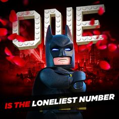 Look, being single around Valentine's Day is hard. But that's what kids are for, right? *sobs alone forever* | The LEGO®  Batman Movie | In theaters now