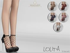 Madlen Lolita Shoes You cannot change the mesh, but feel free to recolour it as long as you add original link in the description. If you can't see this creation in CAS, or if you're experiencing thumbnail problem, please update your game. Hope you'll...