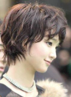Ayame Goriki short haircut
