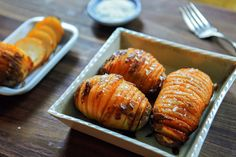 NYT Cooking: Hasselback Potatoes With Garlic-Paprika Oil