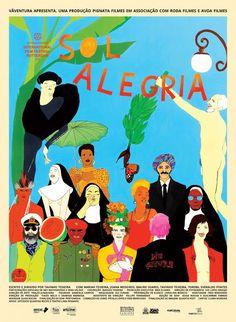 Sol Alegría Cover Art, Movie Posters, Movies, Image, Brazil, Joy, Sun, 2016 Movies, Film Poster