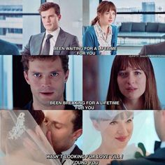 Love for fifty shades ❤❤❤ ( ❤❤❤❤ Amazing edit love this . 50 Shades Trilogy, Fifty Shades Series, Fifty Shades Movie, Fifty Shades Quotes, Shade Quotes, 50 Shades Freed, Fifty Shades Darker, Grey Quotes, Grey Anatomy Quotes