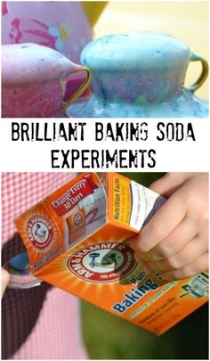 10 Baking Soda Science Experiments for Kids - Kids from preschool and kindergarten to elementary age will enjoy these hands on science experiments using baking soda. Great for homeschooling families! by bernadette Science Chemistry, Teaching Science, Science Activities, Science Projects, Activities For Kids, Science Ideas, Kindergarten Science Experiments, Chemistry For Kids, Science Centers