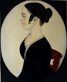 Elmina A. Scoville Polhemus Portrait by Justus DaLee