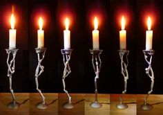 3D Printed Candlesticks Challenge Balance and Proportion Permalink: http://3dprint.com/94401/3d-printed-candlesticks/