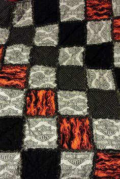 Harley Davidson Quilt Panels Harley Davidson Fabric