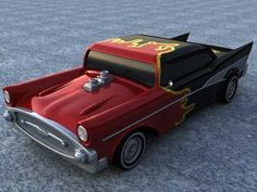 3D Car Vehicle Chevy - 3D Model