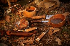Fullmoon overnight at Harriman. A tale of a knife maker and kuksa carver. PHOTOS