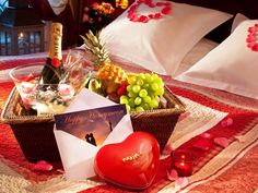 Ideas for a romantic night in a hotel