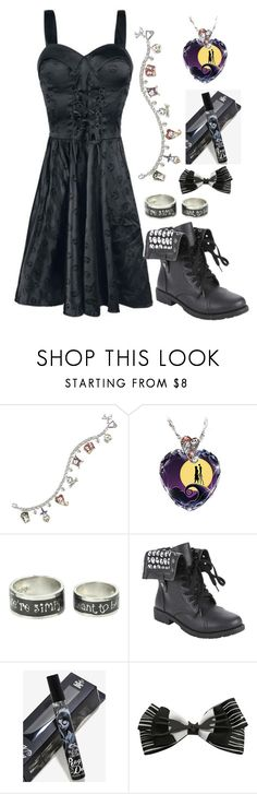 """""""Nightmare Before Christmas #1"""" by twisted-magic ❤ liked on Polyvore featuring The Bradford Exchange and Disney"""