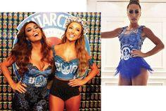 Juliana Paes e Sabrina Sato, rainhas do Carnaval