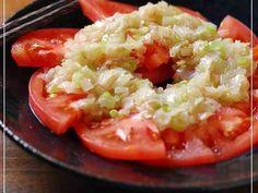 ネギ塩トマト♡の画像