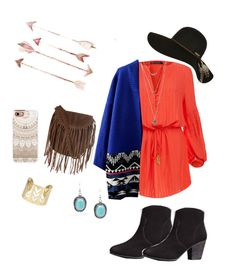 """Boho Babe"" by caseyalexis on Polyvore featuring ViX, Casetify, Glamorous, Boden and Billabong"