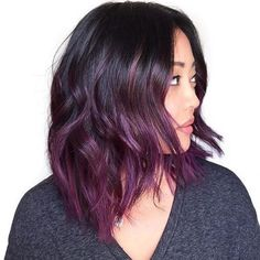 23 Dreamy Purple Hairstyles to Drool Over | #colorfulhair #mermaidhair #bluehues #purplehues #colorenvy #voluminoushair #colorfordays #innermermaid #mermaidvibes #hairgoals #hairootd #hairenvy #hairheaven #hairfirst #haireverything #perfecthair #hairwants #hairneeds #hairessentials #everydayhair