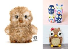 There are some animals that instantly bring out memories of autumn - forest animals! Owls, deers and foxes are definitely end-of-the-year characters. Owls in particular are very popular among crocheters, and designers come up with new ideas everyday.  #freecrochetpattern #amigurumi #owl Crochet Owls, Free Crochet, Crochet Patterns, Autumn Forest, Forest Animals, Knitting, Amigurumi, Crocheted Owls, Crochet Chart
