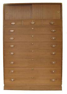 1650+shipping Vintage Japanese Kimono Tansu Clothing Chest Furniture w/ 2 Secret Compartments