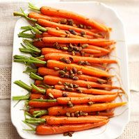 Glazed Carrots with Pistachios