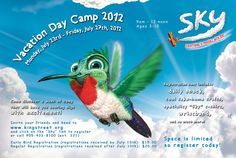 Vacation Day Camp Flyer for King Street Church. Graphic Design Company, Web Design, Vacation Days, Everything Is Possible, Day Camp, Christian, King, Street, Design Web