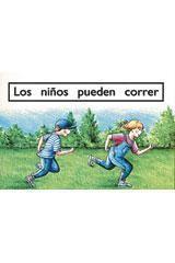 Rigby PM Coleccion Leveled Reader 6pk magenta basicos (magenta) Los niños puedencorrer (We Can Run)