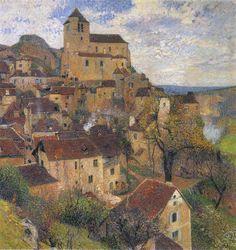 Saint Cirq Lapopie - Henri Martin, 1929