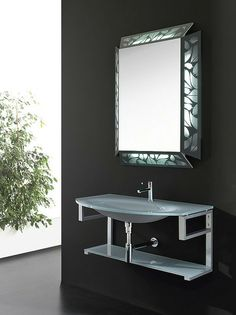 Decorative Mirror by Cristalquattro - Mirror with decorated frame and ...
