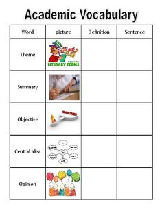 academic writing vocabulary download yahoo