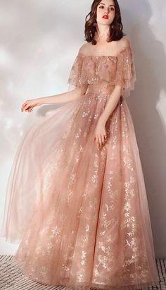 Elegant Dresses, Pretty Dresses, Beautiful Dresses, Vintage Prom Dresses, Grad Dresses, Dress Vintage, Ball Dresses, Ball Gowns, Evening Dresses